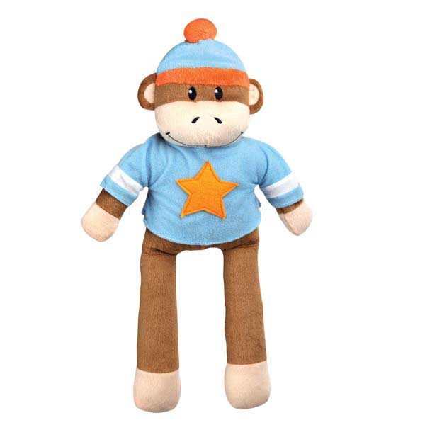 Zanies Monkey Business Friend Dog Toy - Ty