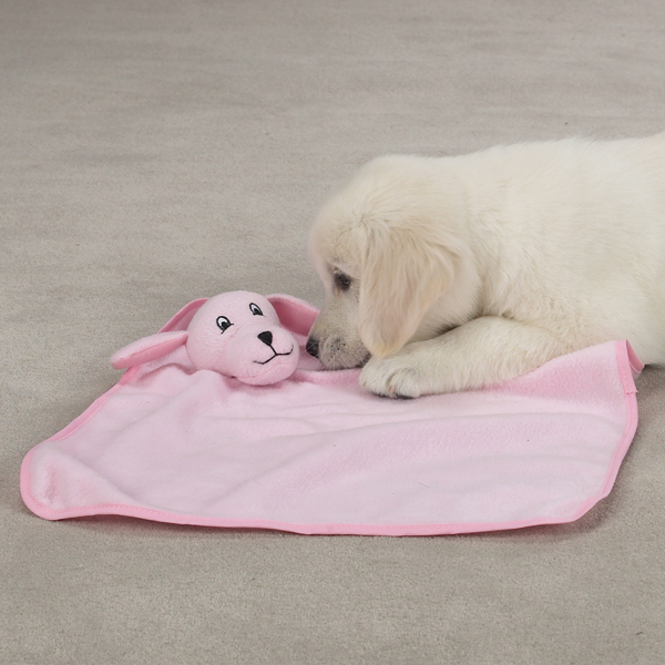 Zanies My Baby Puppy Blankies - Pink
