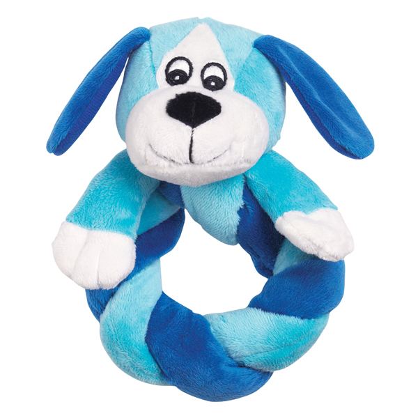 Zanies Puppy Ring Thing - Blue