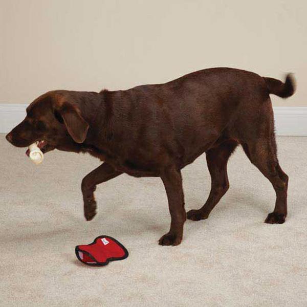 Zanies Rawhiders Dog Toy - Red