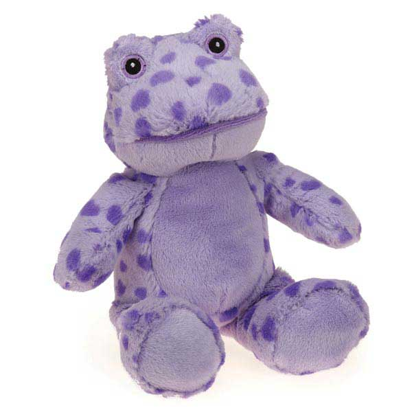 Zanies Ribbits Dog Toy - Purple Heart