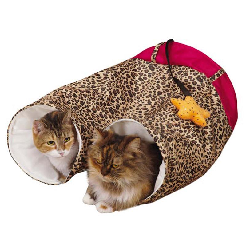 Zanies Rockstar Pants Cat Play Tunnel