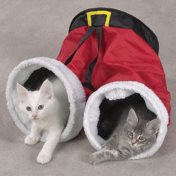 Zanies Santa Pants Cat Toy