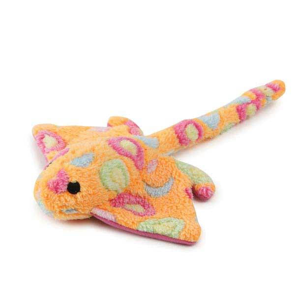 Zanies Sea Charmers Dog Toy - Peach Sting Ray