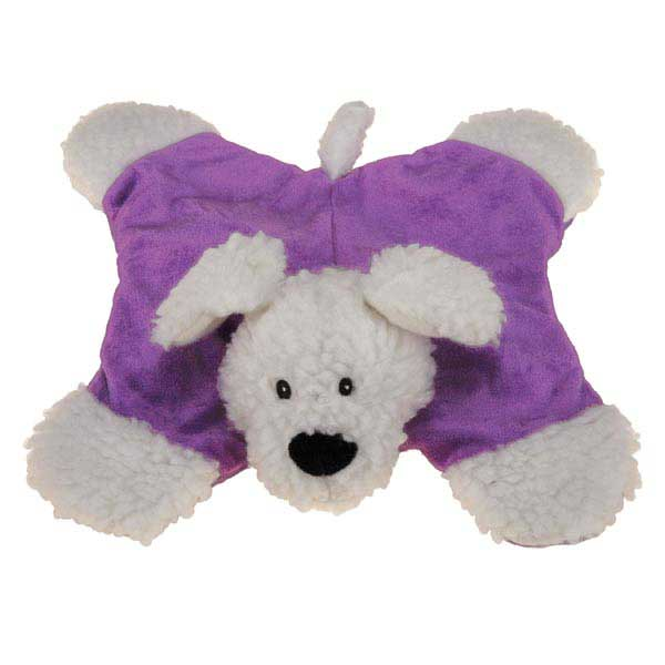 Zanies Sherpa Sidekicks Dog Toy - Ultra Violet Dog