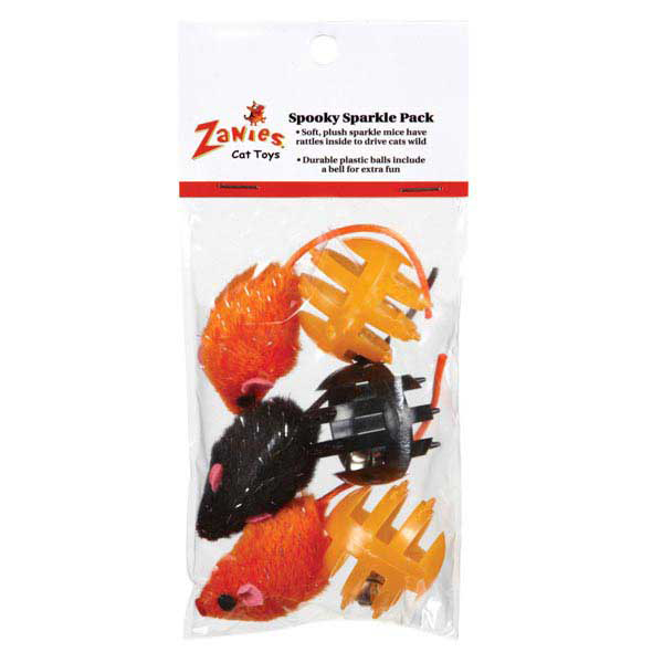 Zanies Spooky Sparkle Cat Toy