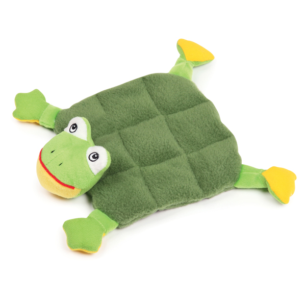 Zanies Squeaktacular Dog Toy - Frog