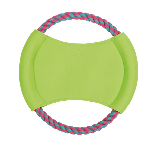 Zanies Surf's Up Rope Flyer - Parrot Green