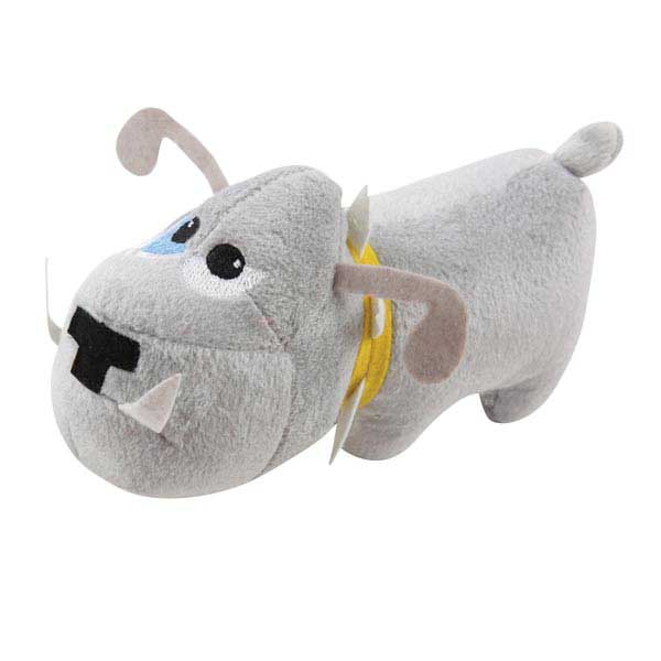 Zanies Tough Dog Toy - Gray