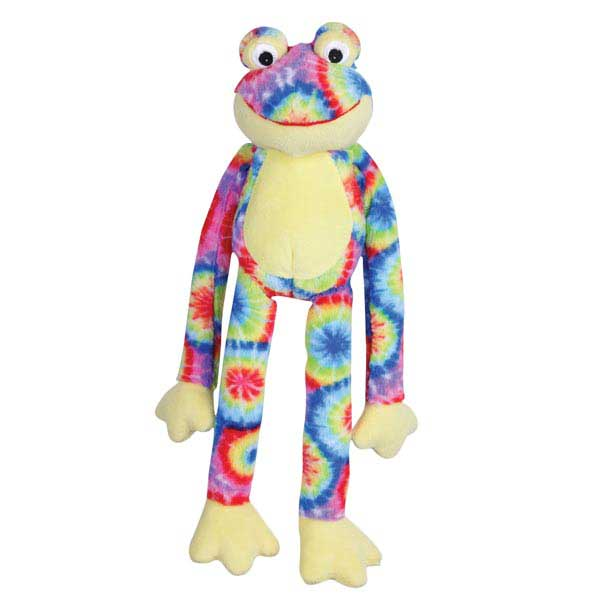 Zanies Woodstock Frog Dog Toy