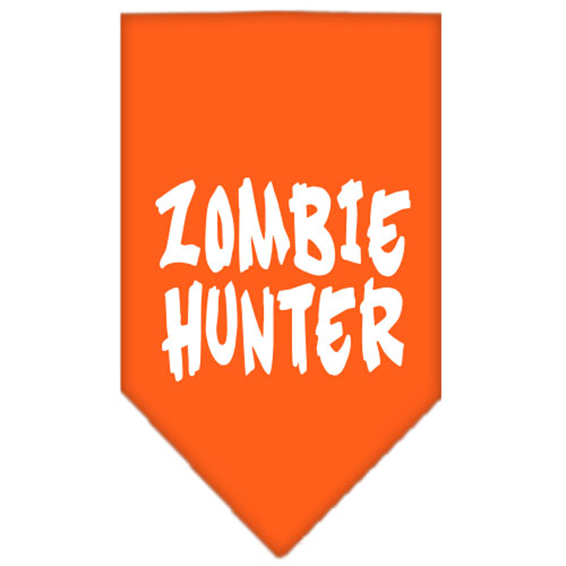 Zombie Hunter Dog Bandana - Orange