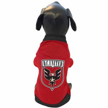 DC United Athletic Mesh Dog Jersey starting at $20.00!