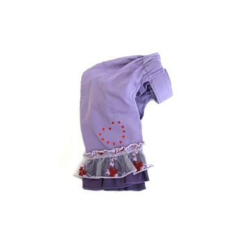Sweetheart Lavender & Red Heart Bell Bottom Pants starting at $2.00!