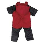 View Image 4 of 2 in 1 Dog Snowsuit - Red