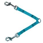 View Image 1 of 2-Way Coupler Leash by Guardian Gear - Malibu Blue
