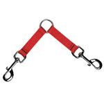 2-Way Coupler Leash by Zack & Zoey - Tomato Red