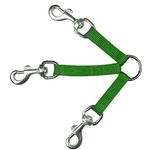 3-Way Coupler Leash by Guardian Gear - Electric Lime