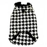 View Image 5 of 4 in 1 Fleece Dog Hoodie and Vest Combination - Houndstooth