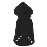 View Image 2 of 4 in 1 Fleece Dog Hoodie and Vest Combination - Houndstooth