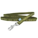 View Image 1 of ActiveGo Bone Leash by Dogo - Green