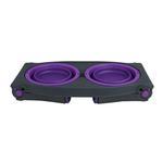 Adjustable Pet Feeder by Popware - Purple