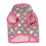 View Image 2 of Affera Pinka Wrap Dog Harness by Pinkaholic - Gray