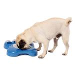 View Image 2 of Aikiou Dog Feeding Toy - Blue and Gray