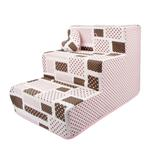 View Image 1 of Almee Dog Stairs by Pinkaholic - Pink