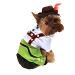 View Image 1 of Alpine Boy Lederhosen Dog Costume
