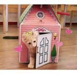 View Image 6 of Amante Cat House by Catspia - Pink