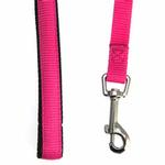 View Image 2 of American River Cushion Grip Dog Leash - Honeysuckle Pink
