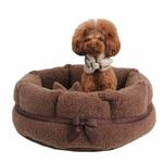 View Image 4 of Angelic Dog Bed by Pinkaholic - Brown