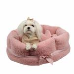 View Image 1 of Angelic Dog Bed by Pinkaholic - Pink