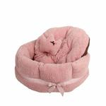 View Image 2 of Angelic Dog Bed by Pinkaholic - Pink