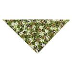 View Image 1 of Aria Bone Heads Bandana - Green