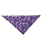 View Image 2 of Aria Boo Dog Bandana - Purple