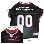 View Image 1 of Arizona Cardinals Officially Licensed Dog Jersey - Black