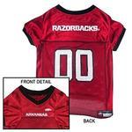 Arkansas Razorbacks Dog Jersey - Red with Black Trim
