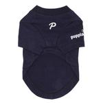 View Image 2 of Asking Dog Shirt by Puppia - Navy Blue