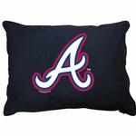 Atlanta Braves Dog Bed