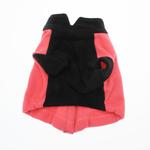 View Image 2 of Attitash Fleece Dog Jacket - Raspberry & Black