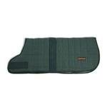 View Image 1 of Aussie Naturals Quilted Cotton Dog Coat - Hunter Green