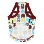 View Image 2 of Baby Robot Dog Shirt by Puppia - Brown