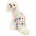 View Image 1 of Baby Robot Dog Shirt by Puppia - Pink
