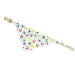 View Image 1 of Bandana Dog Collar - Color Paws