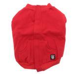 View Image 3 of Barkley's Cozy Dog Sweatshirt - Red