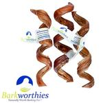 Barkworthies Premium Bully Stick Dog Treat - Curly