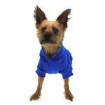 View Image 4 of Basic Dog Hoodie - Nautical Blue