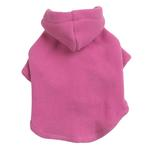 View Image 1 of Basic Fleece Dog Hoodie - Pink
