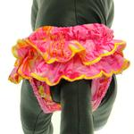 View Image 1 of Beach Girl Dog Sanitary Pants by Puppe Love - Pink